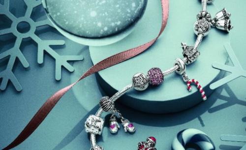 новогодний подарок девушке браслет пандора